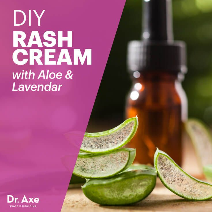 Diy Rash Cream With Aloe Lavender Recipe Rash Cream Home