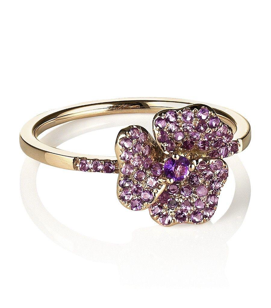 Harrods Pansy Ring!