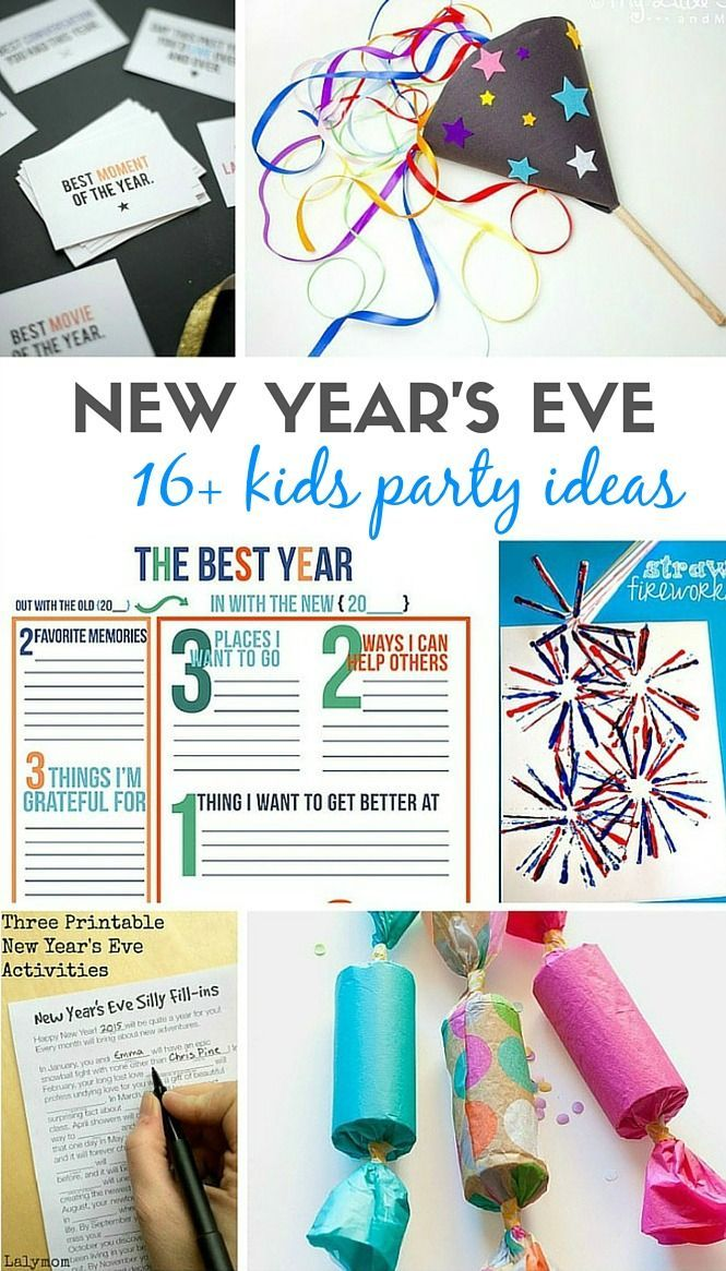 16 creative and super easy to prepare new year s eve kids party