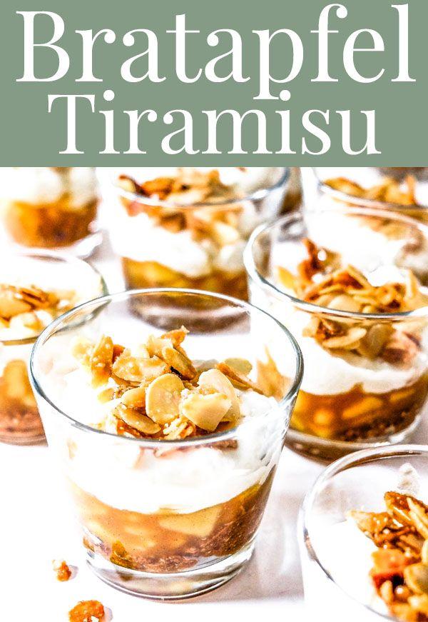 Photo of Baked Apple Tiramisu ~ Delicious Autumn – Winter Dessert
