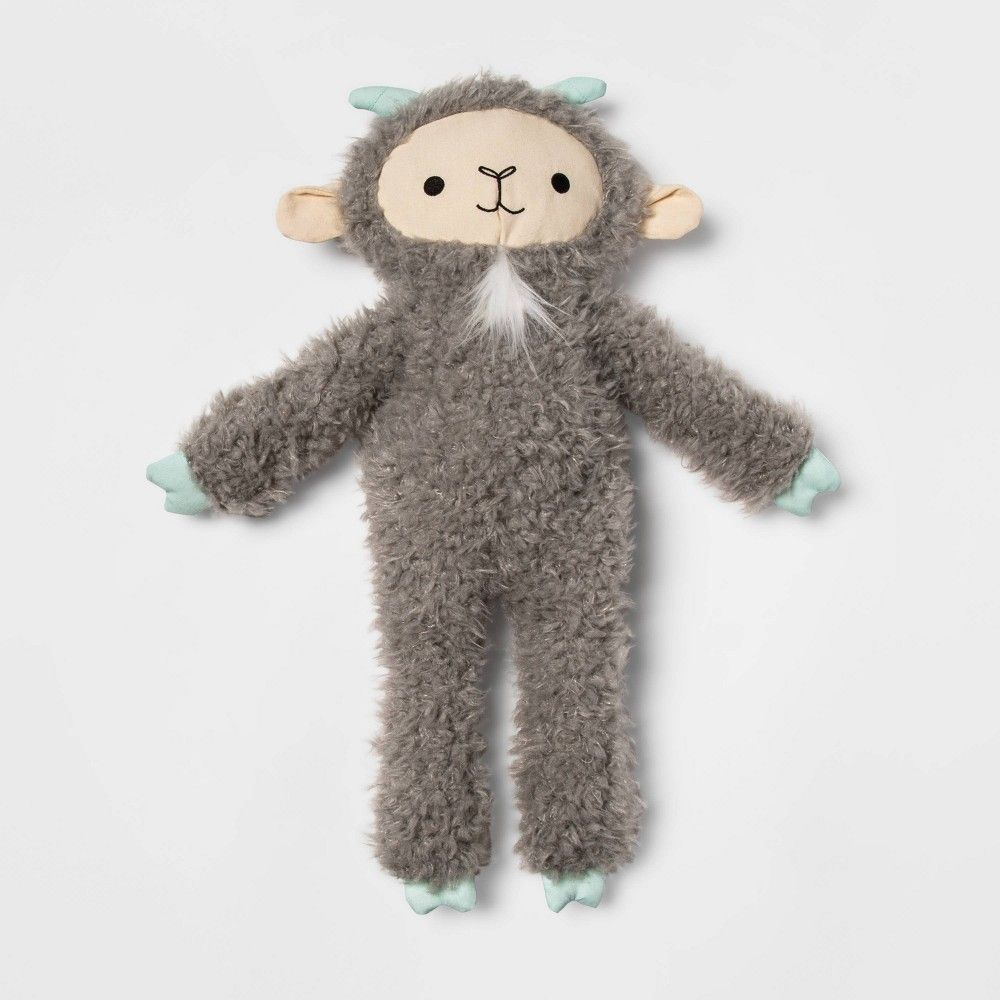 Goat Gray Dog Toy - M/L - Boots & Barkley™