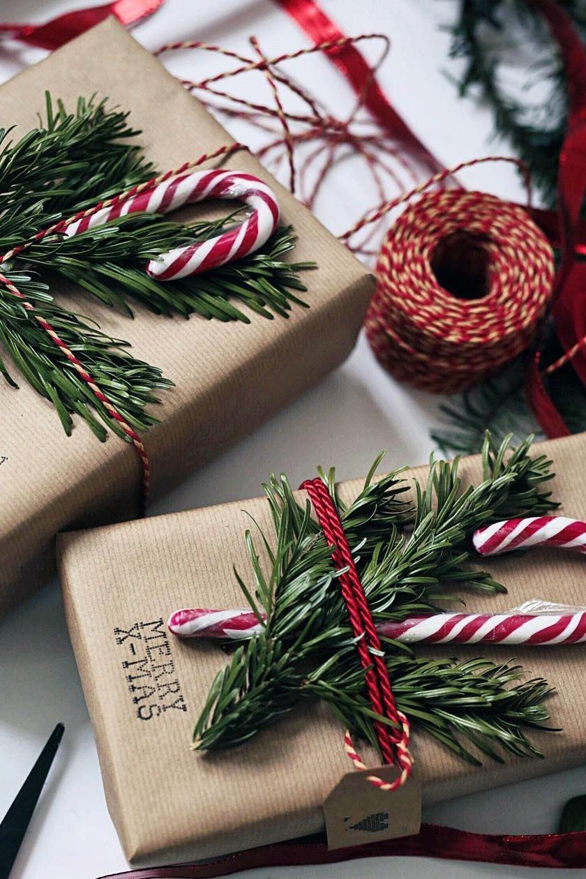 9 Easy Ways To Take Your Gift Wrap To The Next Level Christmas Diy Diy Christmas Gifts Gift Wrapping