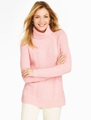 Talbots - Diamond Cable Turtleneck   Sweaters     The Queen's ...