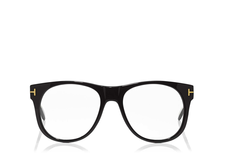 SLIGHTLY ROUND OPTICAL FRAME   Shop Tom Ford Online Store   Menswear ...