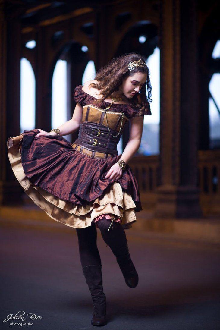 Steampunk Fashion Girl | deviantART: More Like fashion show Steampunk 2013 My Oppa by ~myoppa ...