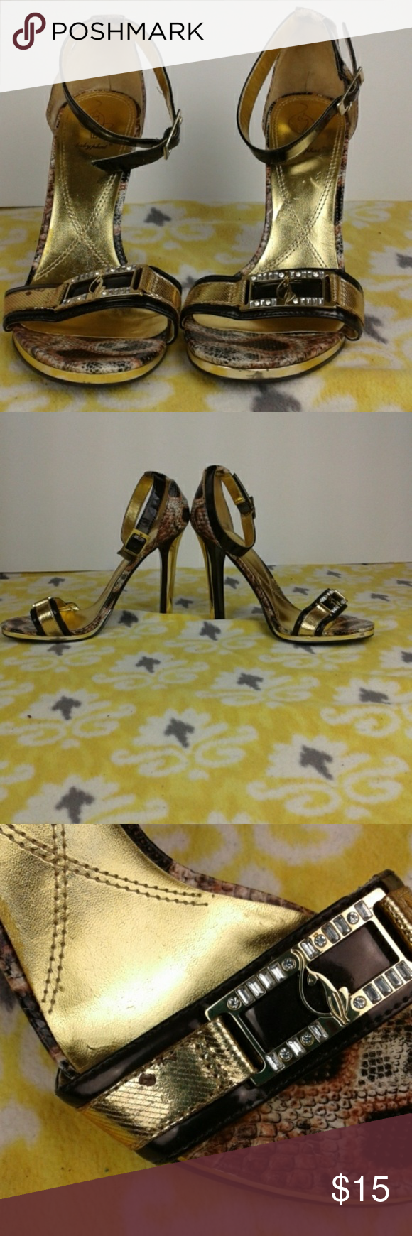 5781a33285d Spotted while shopping on Poshmark  Babyphat heels!  poshmark  fashion   shopping