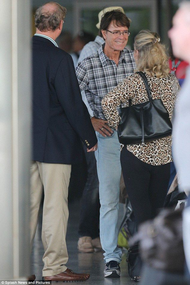 Going On A Summer Holiday Sir Cliff Richard Spotted At Barbados