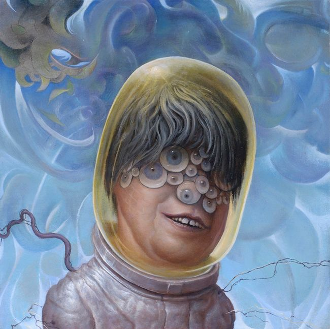 Chris Leib Eye of the Storm Oil on canvas