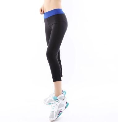 Sports Fitness Elastic Quick Dry Breathable Running Stretched Gym Athletic Leggings
