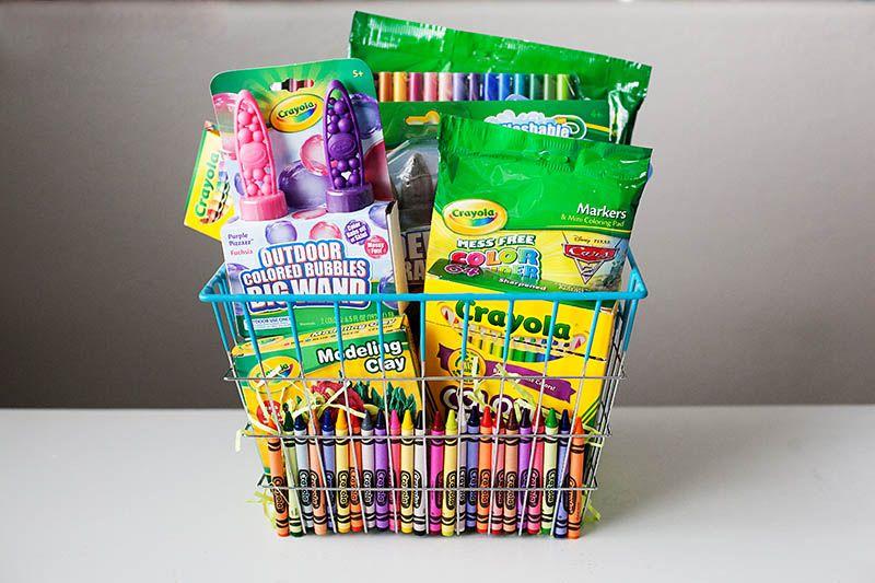 Crayola basket cute classroom ideas pinterest easter easter crayola basket negle Gallery