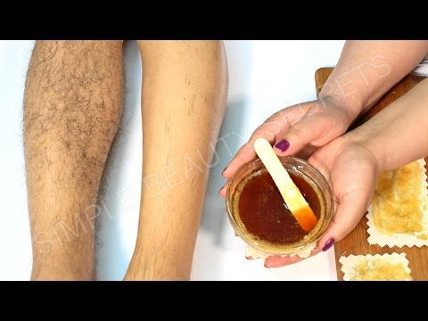 Hair Removal At Home Removing Hair In Live Video Youtube Wax