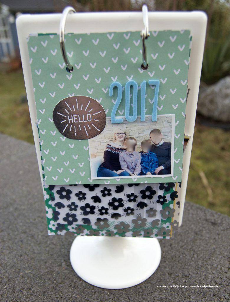 kalender im bilderrahmen ikea tolsby stampin 39 up project life lebe jeden tag. Black Bedroom Furniture Sets. Home Design Ideas
