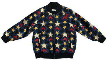 8cd78123b351 Tapestry Hearts   Stars Bomber Jacket