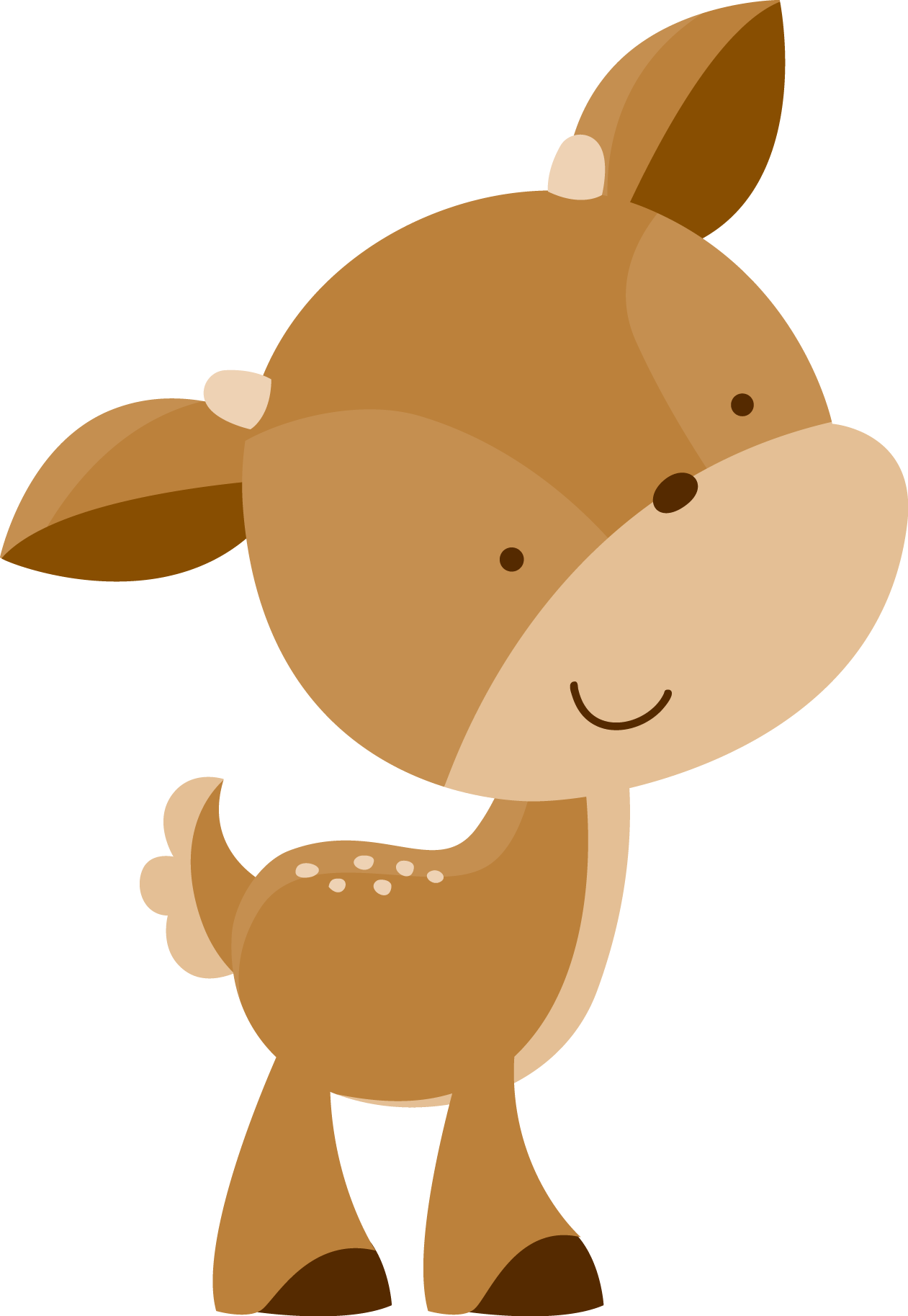 Cute Animals Png : animals, Woodland, Animals, Animal, Clipart,