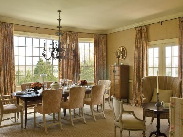 See How Different Neutral Hues Are Incorporated In This Gorgeous Stunning Hgtv Dining Rooms Review