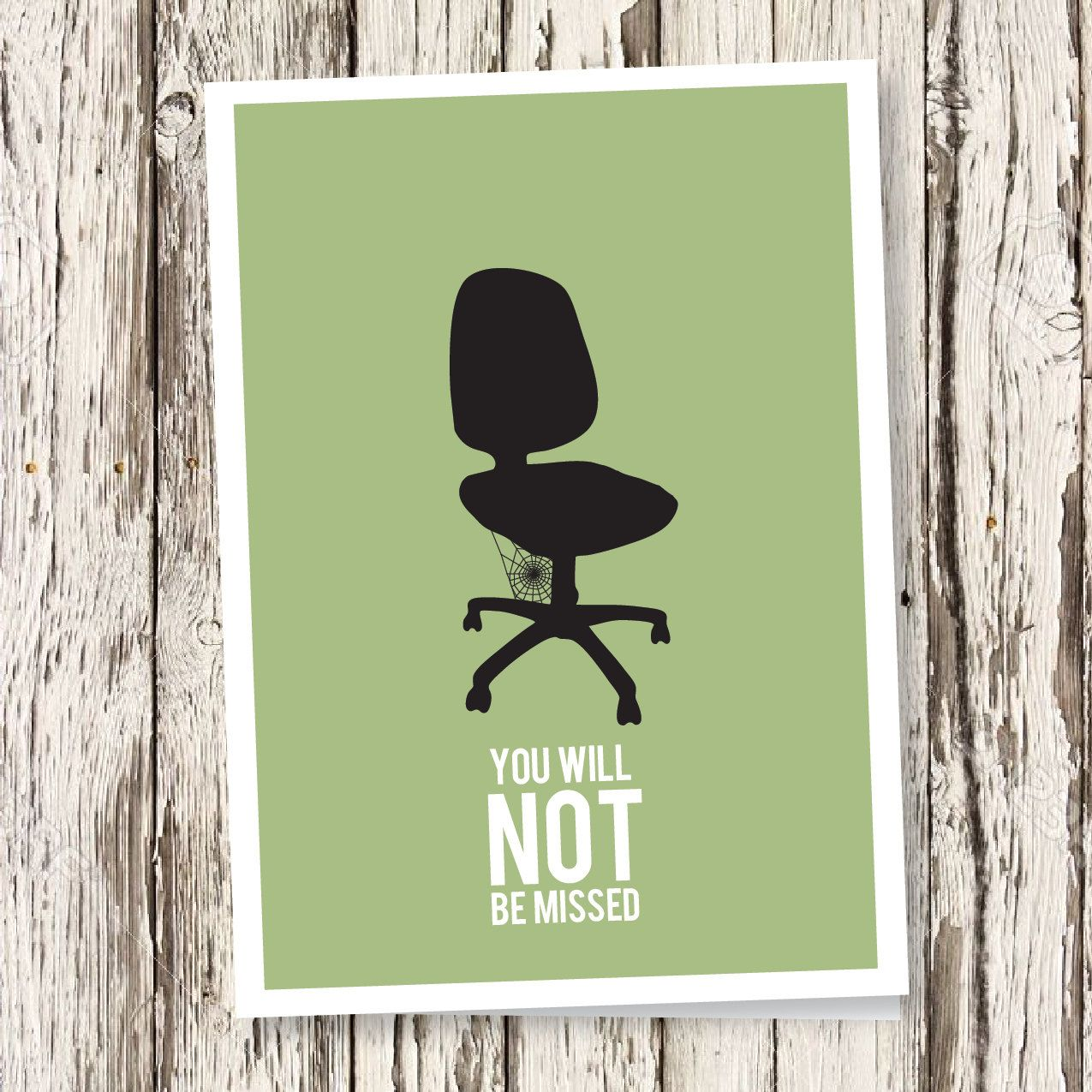 Say farewell to your colleague with this DIY printable