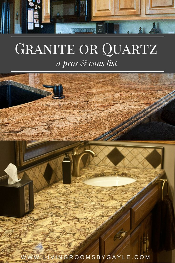A Pros And Cons List Comparing Look, Performance, Maintenance, Selection  Process And Cost Of Granite And Quartz Solid Surface Counter Tops.
