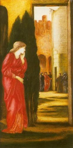 Danae and the Brazen Tower - Edward Burne-Jones