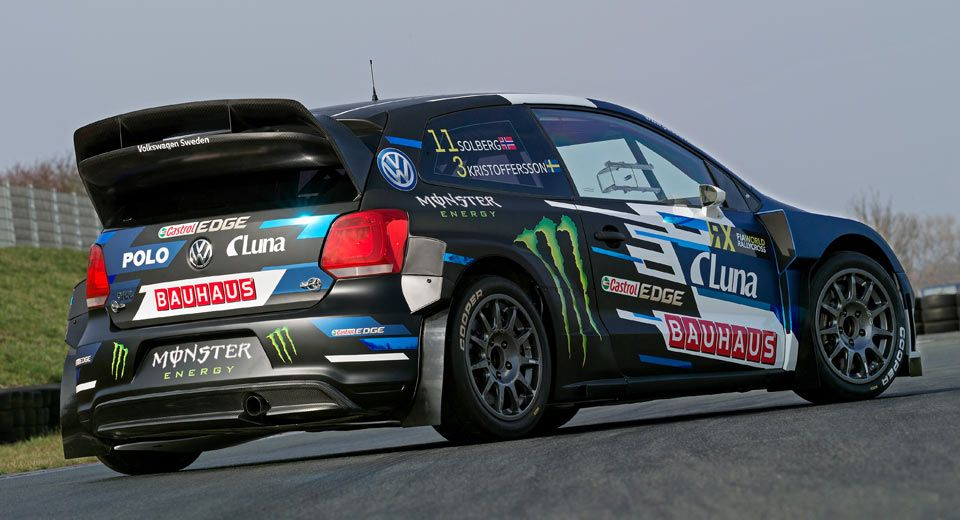 Vw Polo Rally Car Reborn As Petter Solberg S New 570 Horspower Gti