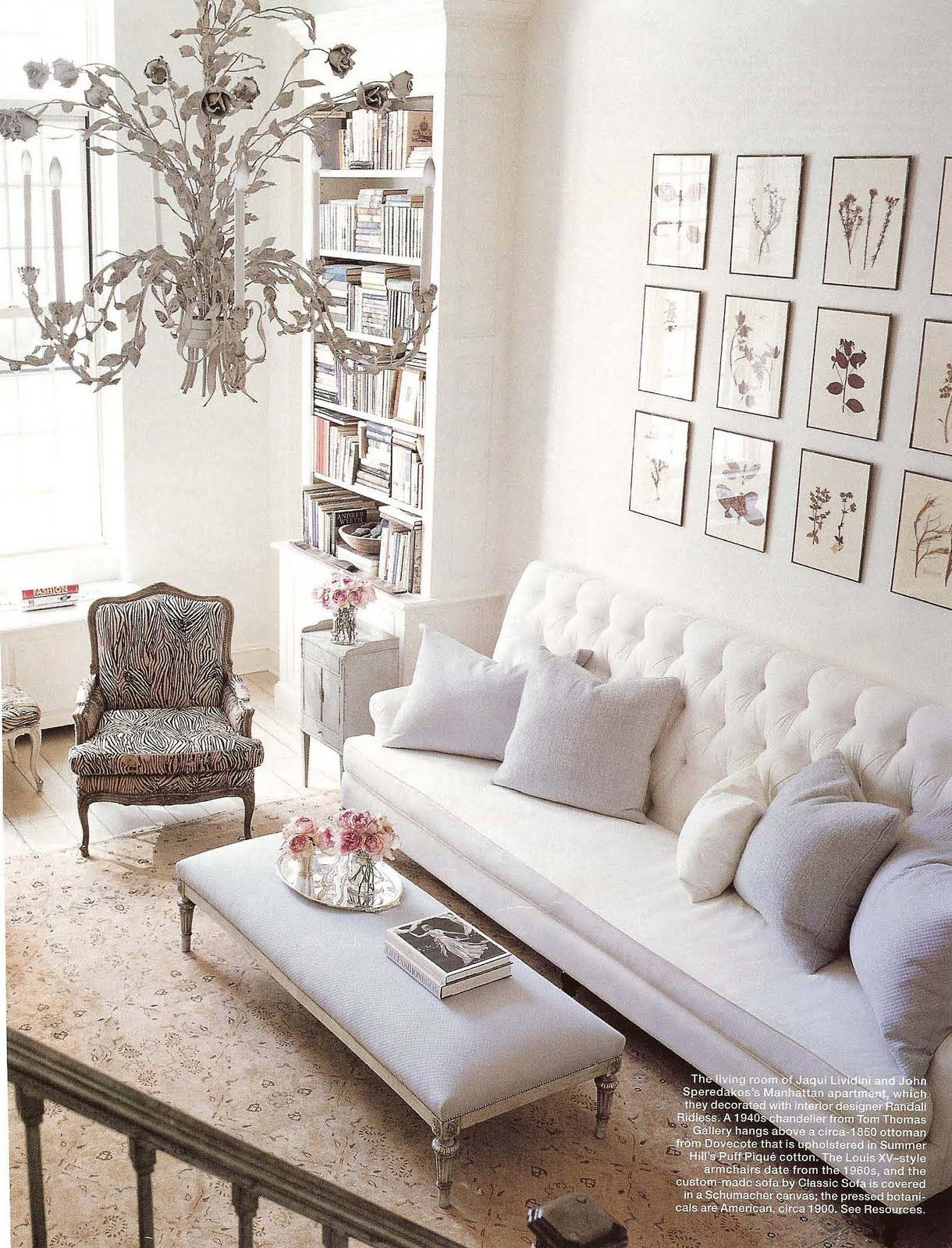 all is white  french living room design french living