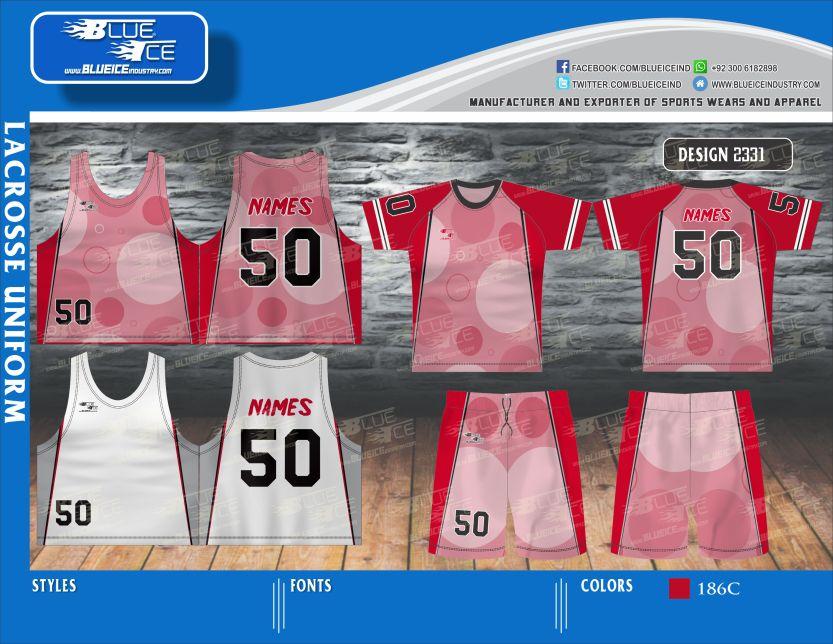 Custom Lacrosse Shooter Shirt, Sublimated Lacrosse Apparel