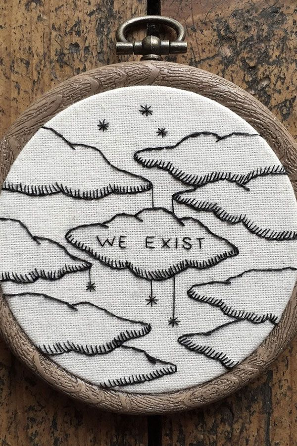 6 Awe-Inspiring Embroidery Artists // Creative Spotlight #embroidery