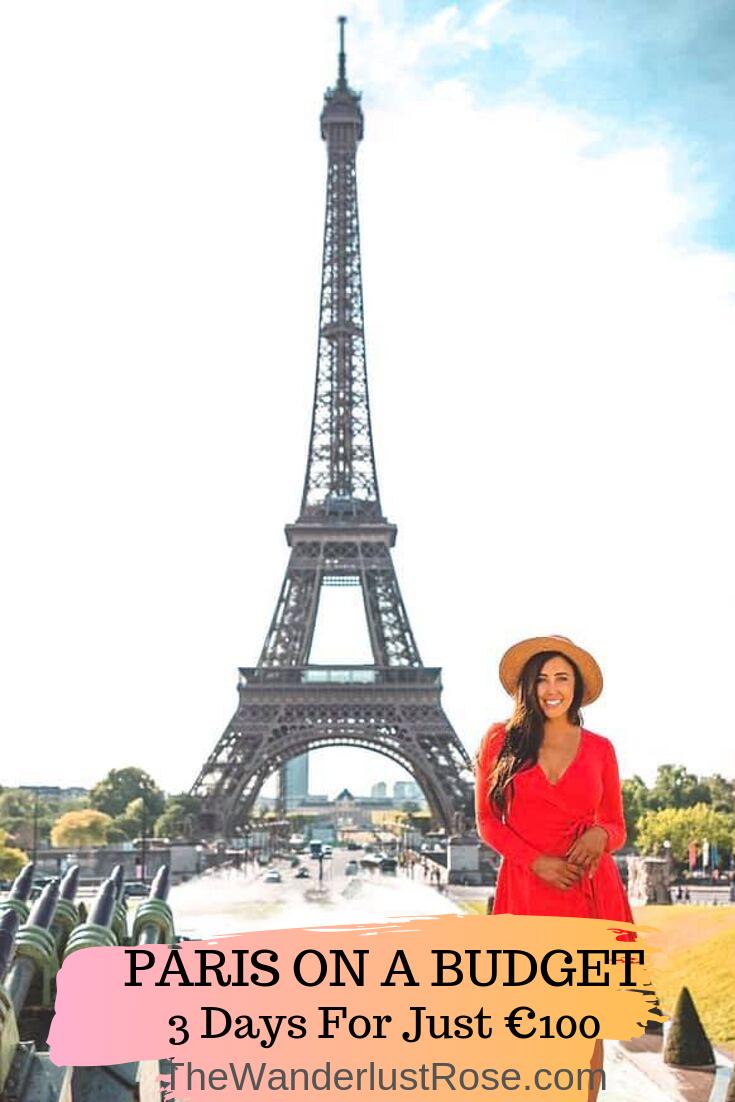 Paris On A Budget 3 Days For Just 100 Paris Vacation Student Travel Paris Tours