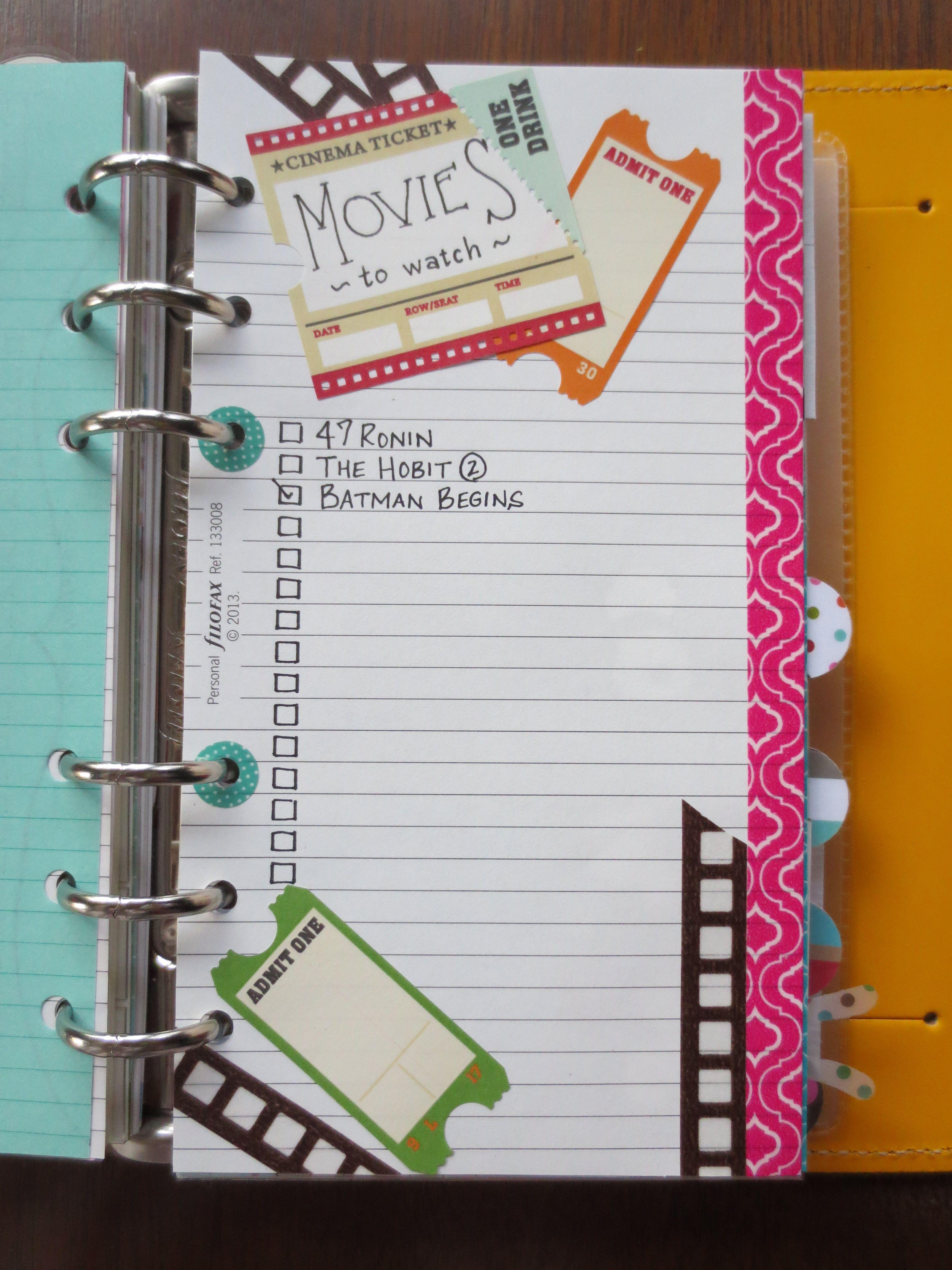 List Idea | Movies