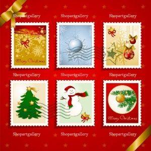 Francobollo di Natale insieme by Luisa Venturoli - shopartgallery.com