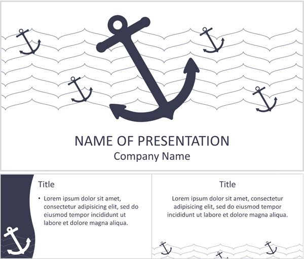 Nautical anchors powerpoint template teacher ideas pinterest nautical anchors powerpoint template toneelgroepblik Choice Image