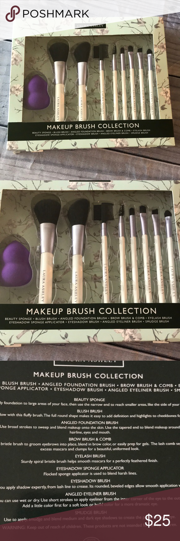 Host Pick Laura Ashley Makeup Brush Collection This brush