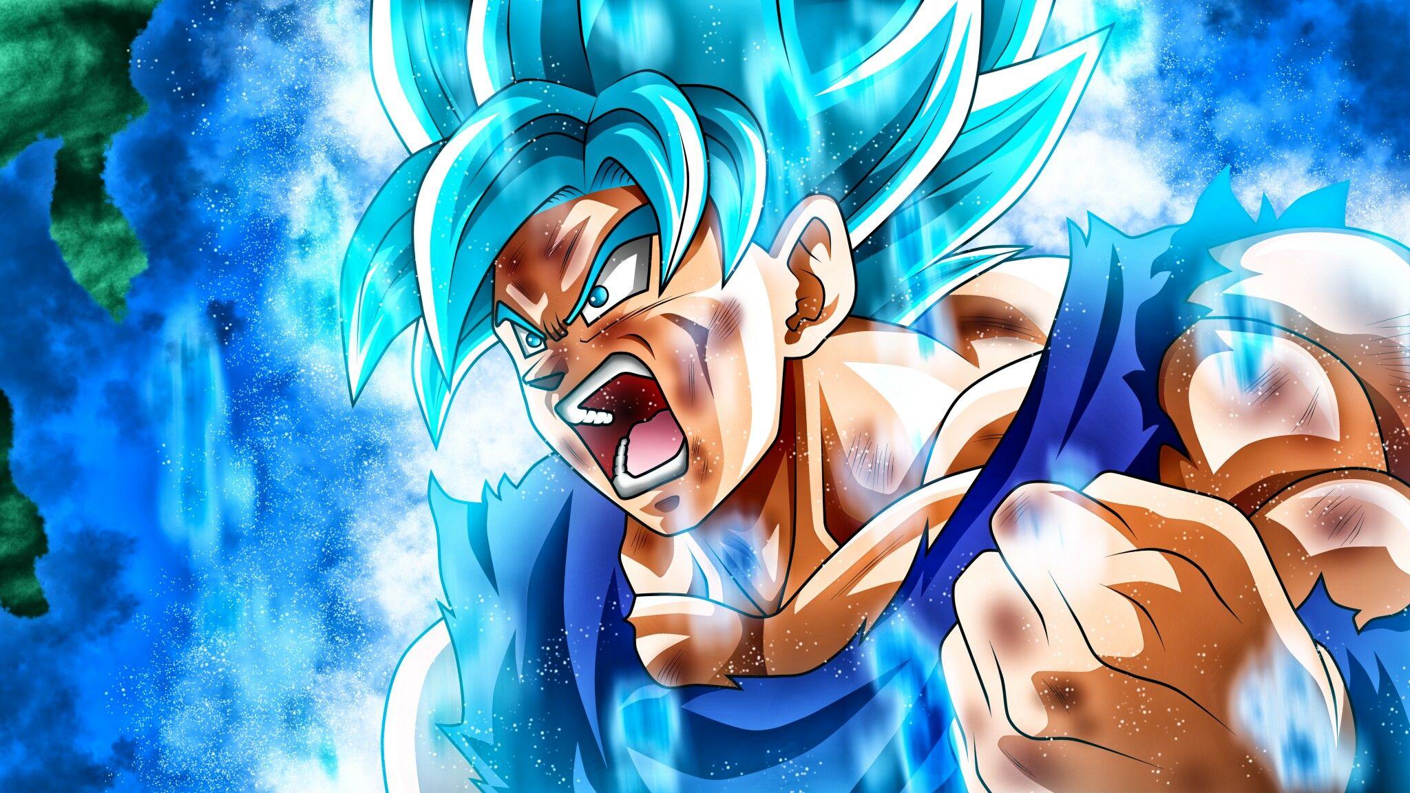 Goku Ssj Blue Dragon Ball Z Goku Super Goku