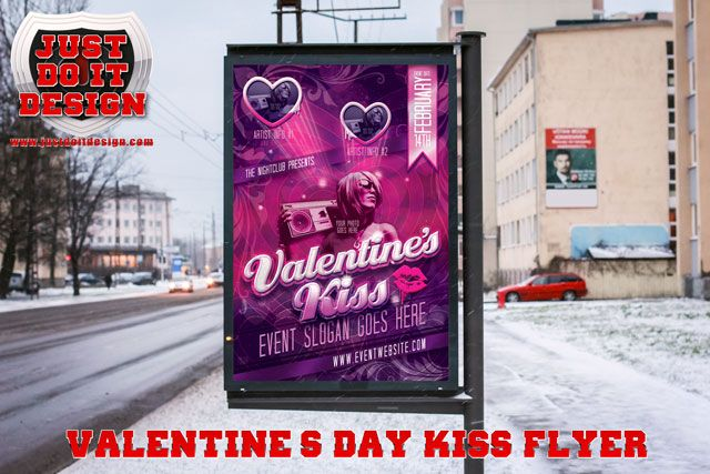 Getting ready for the upcoming Valentine's event or party? Be and sure that your flyers match your event with this easy to use flyer template!    * All layers simply & clearly organized.  * Backdrop color can easily be changed color layer control.  * 7×5 inches  * Print Ready, 300 dpi, cmyk, .25 bleed included  * Free Fonts Included    Cheers!!    Click The Button Below To Grab Your FREE Copy!