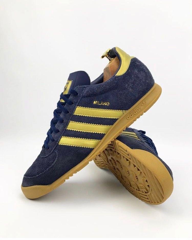 adidas Originals Milano | Adidas casual shoes, Adidas casual ...