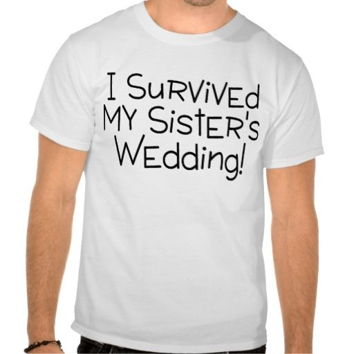 i survived my s wedding black t shirt