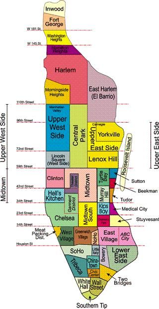 Map Of New York Districts.Map Of New York Subway Routes Meatpacking District Google Search