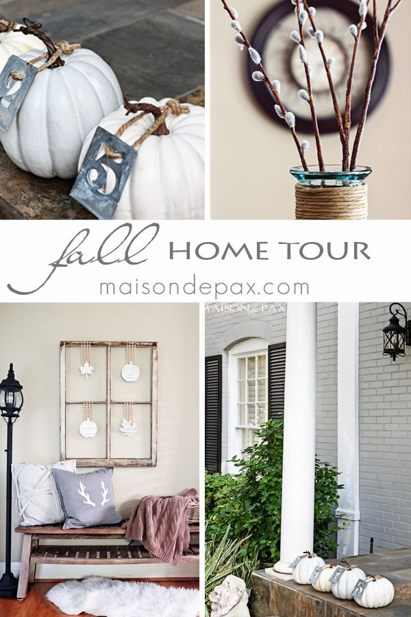 Fall Home Tour: Part 2 | Fall decor, Funky junk and Decorating