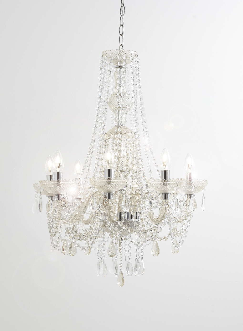 Alexandria Chandelier Bhs 350 Dimensions Height With Ceiling Chain H160cm
