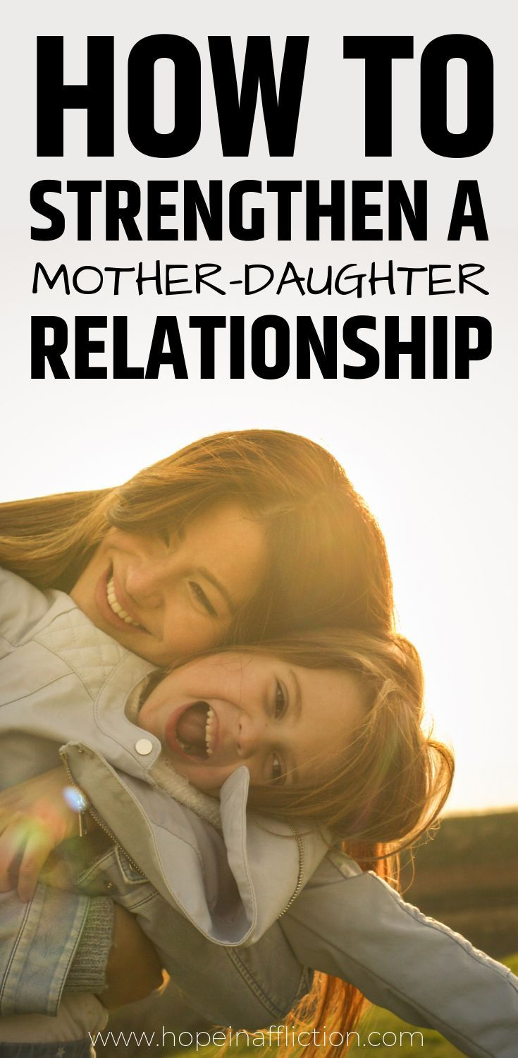 Mother-Daughter relationships are unique. Girls need their mom, and having a strong relationship is so important. Read 8 way your can strengthen your relationship with your daughter. #parenting #girls #motherdaughter #raisingdaughters #momlife #parentingadvice #family #adoption #hopeinaffliction #tips