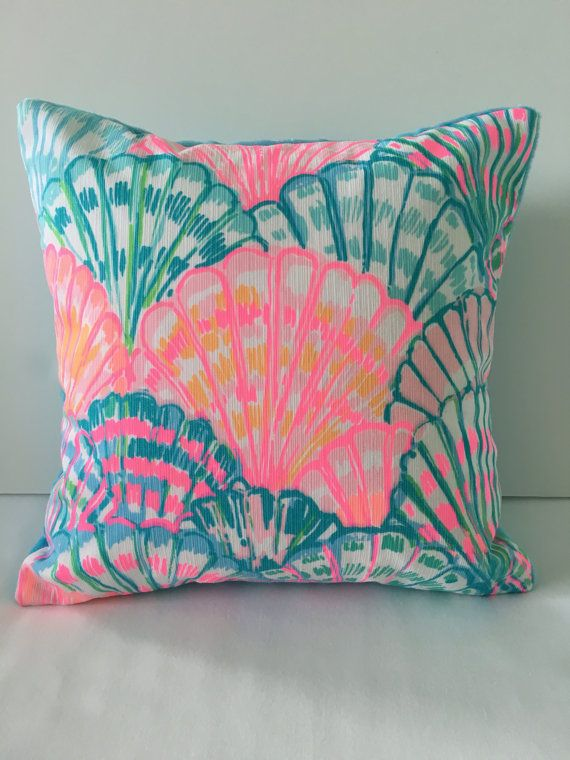 Lilly Pulitzer Pillow Dorm Pillow Sunroom By SweetBabyBurpies Home New Lilly Pulitzer Decorative Pillows