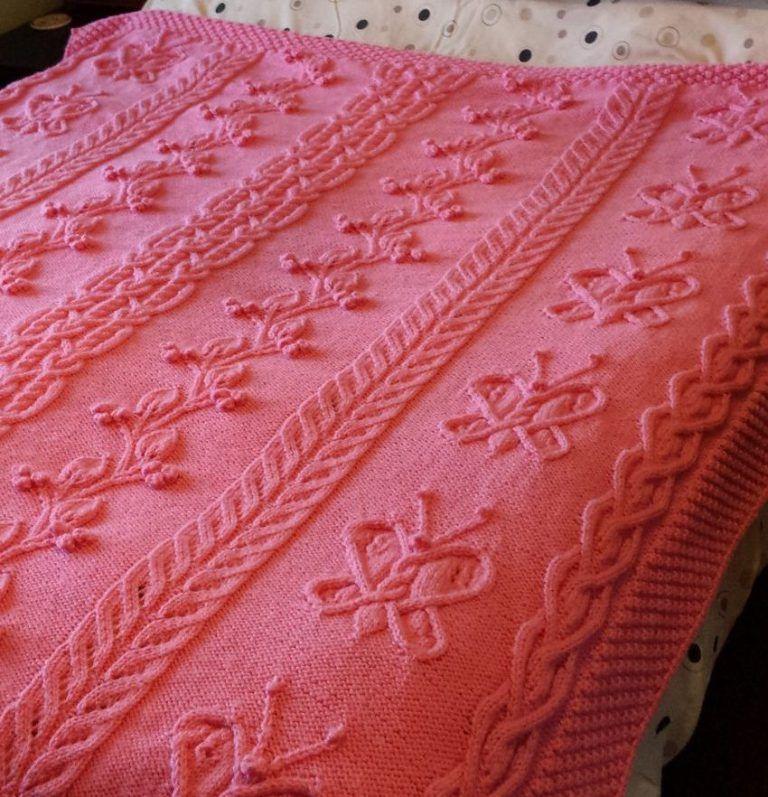 Cable Afghan Knitting Patterns | Gestricktes tuch, Decken und Tücher