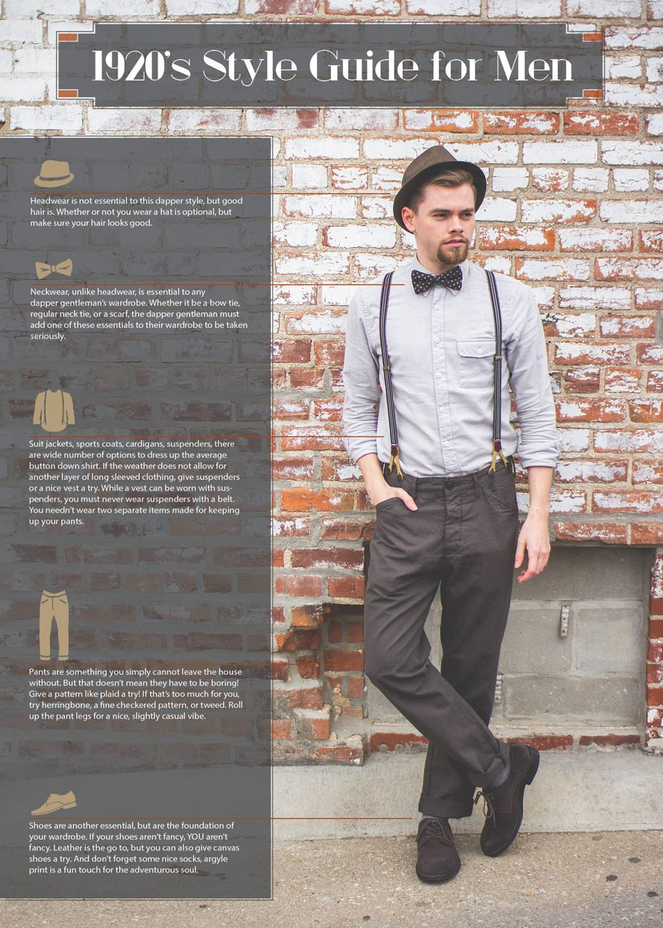 1920s Mens Fashion Style Guide – A Trip Back In Time