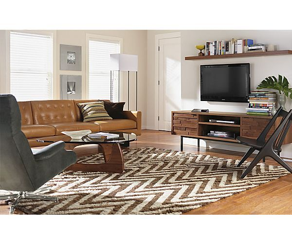 Bokila Rug In Chocolate   Rugs   Room U0026 Board
