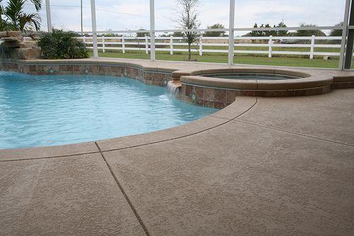 Wonderful Seal Krete Floor Tex Application On A Pool Deck By Coatings4concrete, Via  Flickr