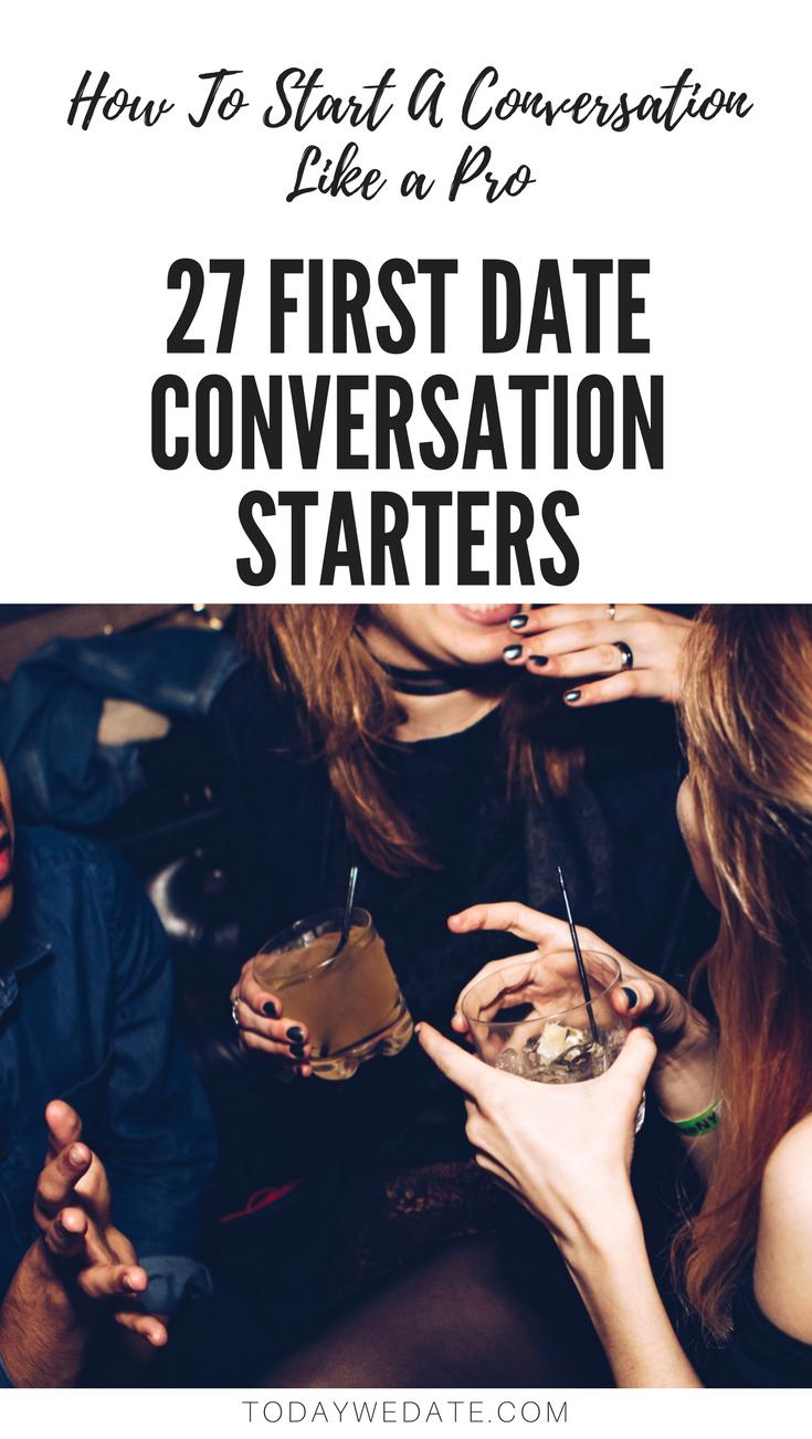 Online dating first date conversation starters
