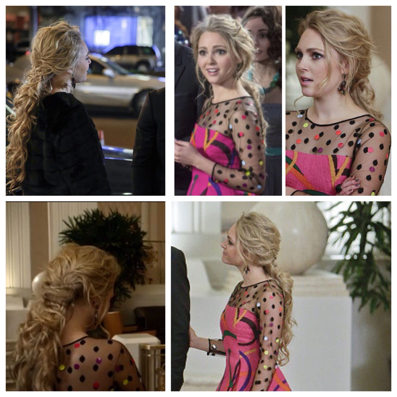 7b575817a5c Carrie Diaries! Loved how she wore her hair for prom!
