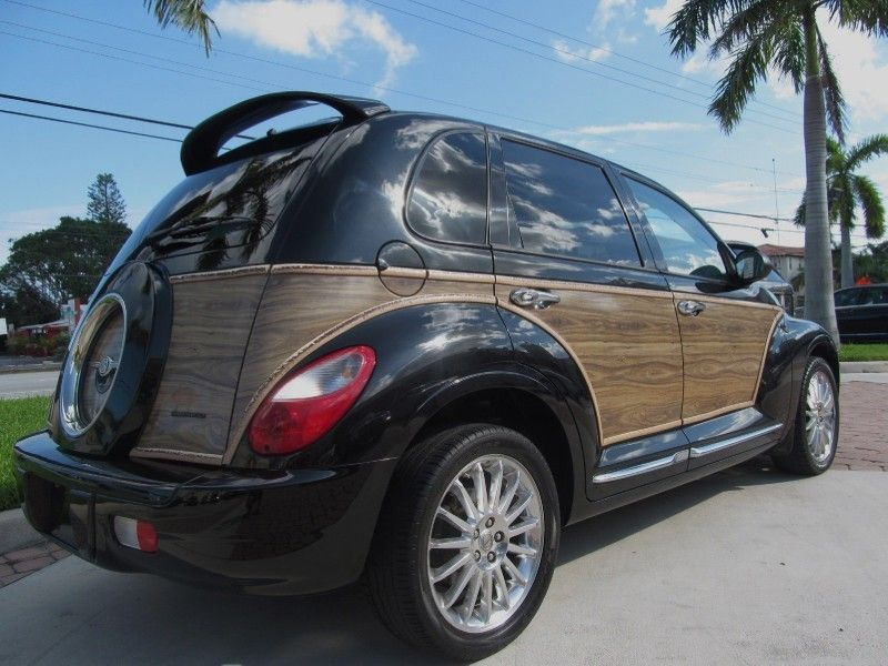 2008 Chrysler Pt Cruiser Limited Black Woody Turbo In Delray Beach Florida