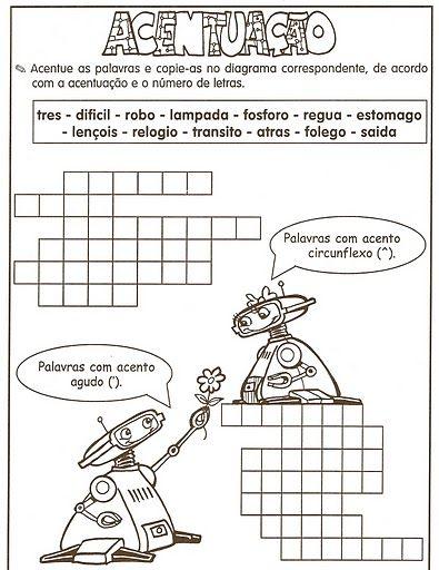 Lingua Portuguesa Gramatica Ortografia Silaba Tonica