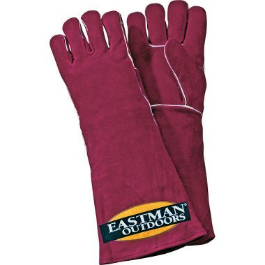 "Eastman Outdoors Leather Cooking Gloves - 19"" at Cabela's"