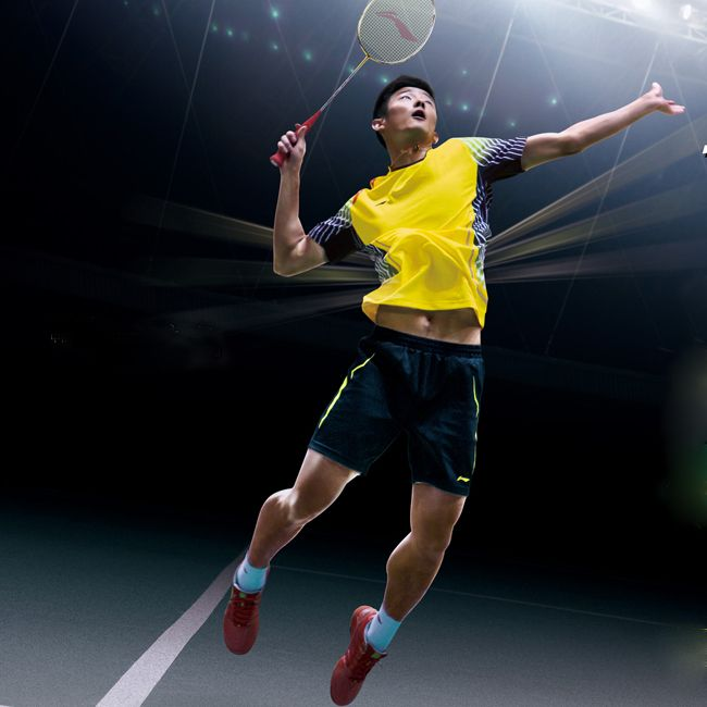 World Championship 2 Seed Chen Long With Only 16 Days Before The Start Of The 2014 Li Ning World Championships Chen Long Badminton Photos Badminton Pictures